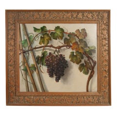 Pair of 19th Century Still-Life Paintings by Alessandro Mantovani
