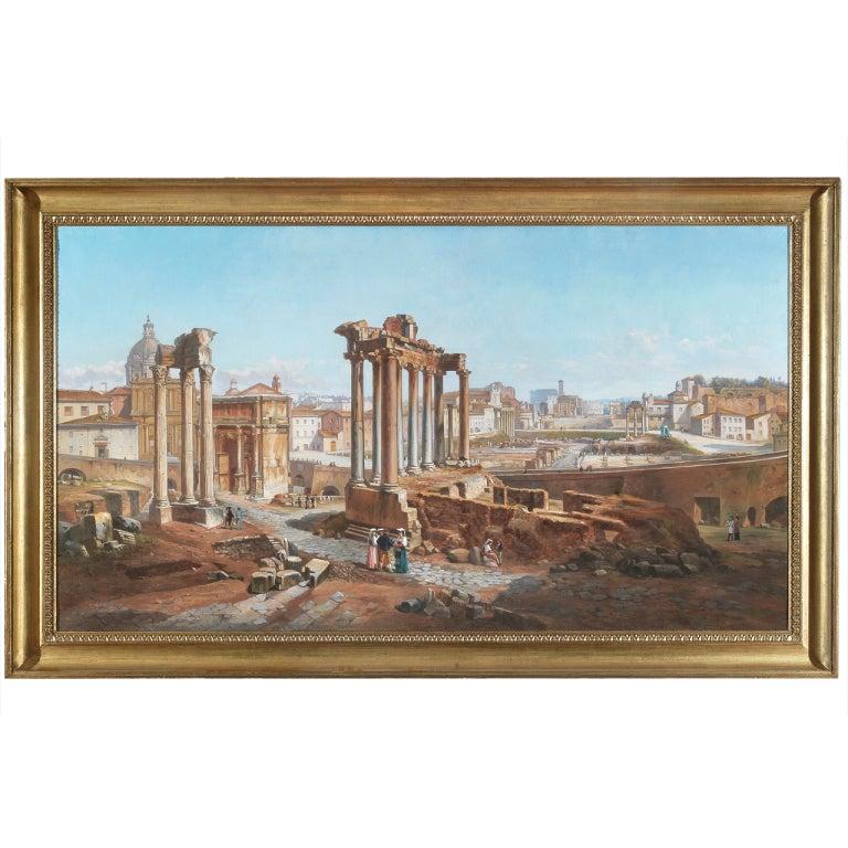 Vincenzo Giovannini Panoramic View of the Roman Forum 1