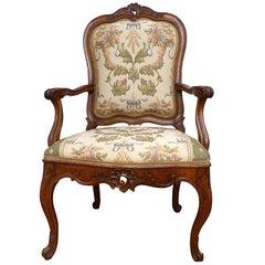 Italian Venetian Armchair, 18th Century