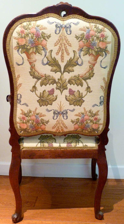 Wood Italian Venetian Armchair, 18th Century For Sale