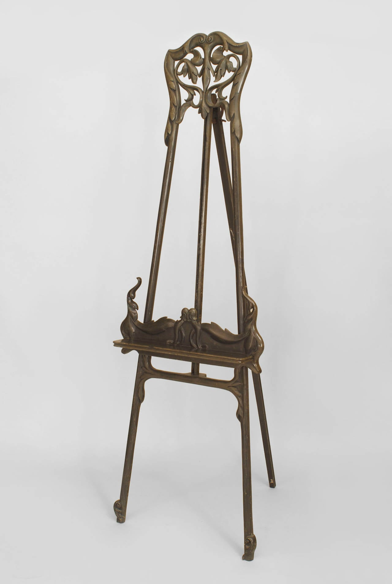 modern art nouveau furniture. turn of the century art nouveau filigreed easel or stand 2 modern furniture c