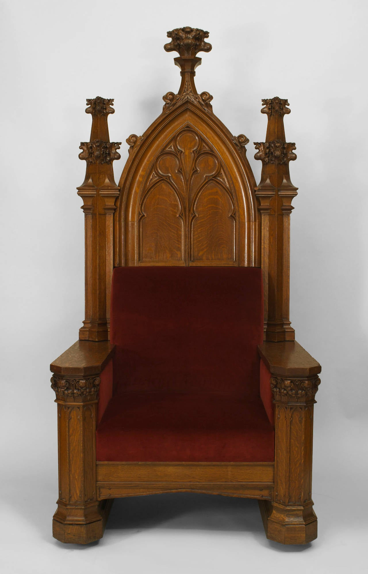 Oversized Turn Of The Century English Gothic Revival