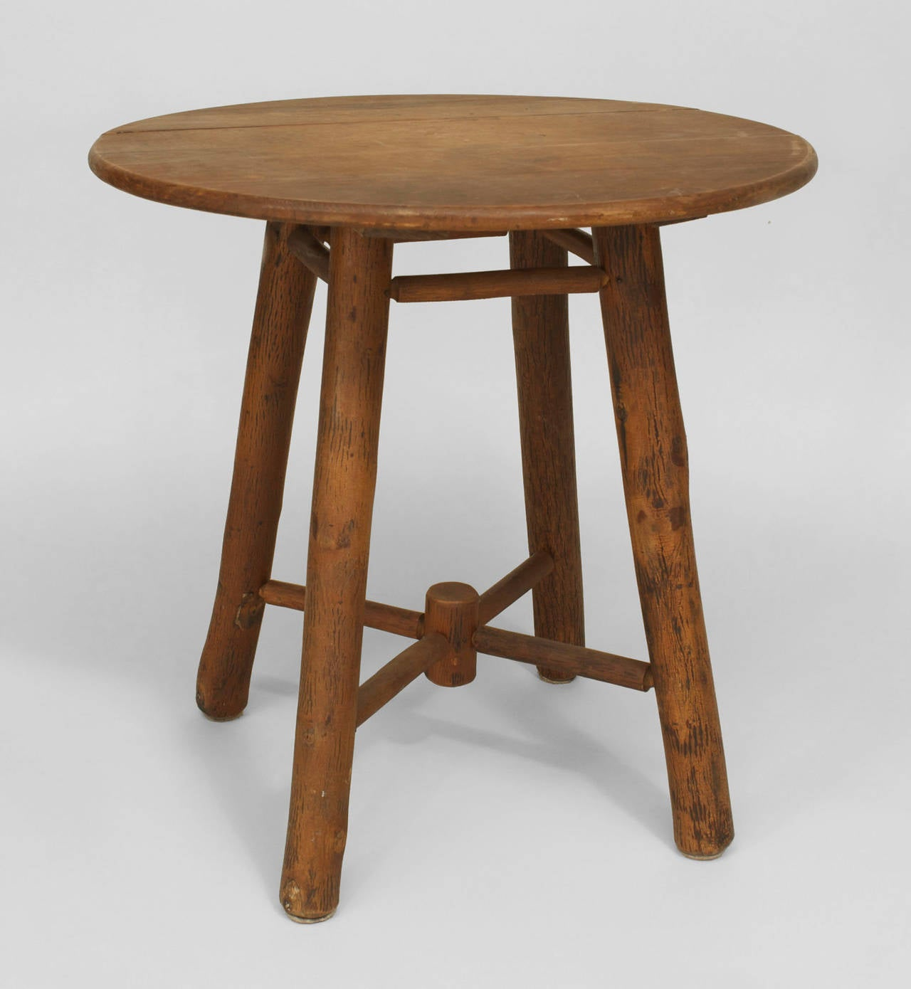 American Rustic Old Hickory End Table 2