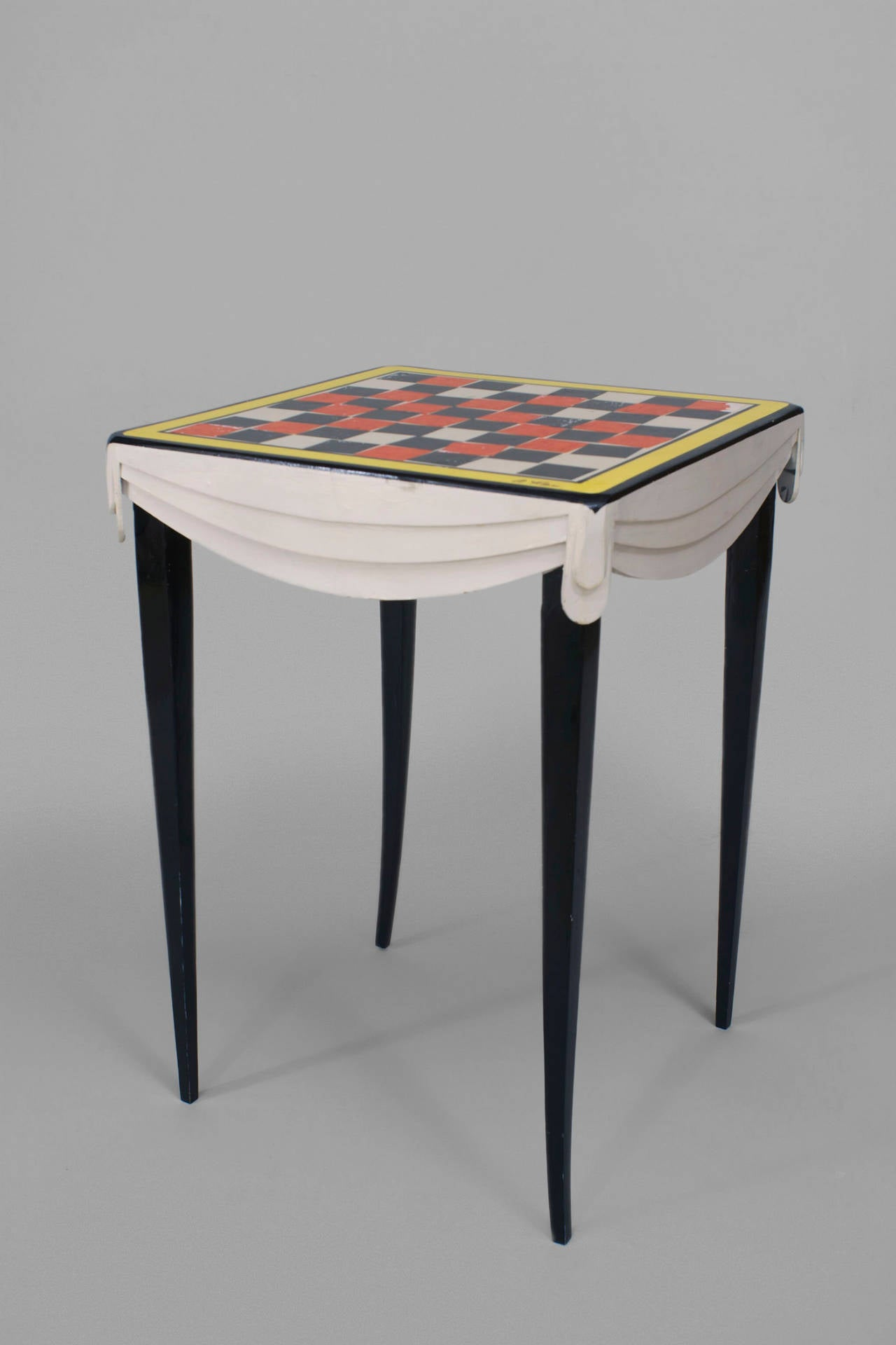 Contemporary american abstracted game table for sale at for Contemporary game table and chairs