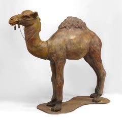 1930's American Life-Sized Camel Carnival Sculpture
