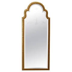 Early 18th c. English Queen Anne Gilt Wall Mirror, c. 1705