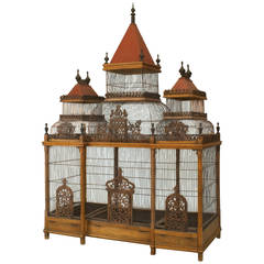 Large Turn of the Century French Birdcage