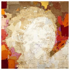 Spanish Mixed Media Work by Chilean-Born Artist Fernando Alday, 2012