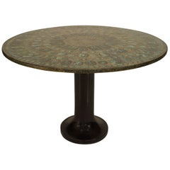 1950s Italian Fornasetti Center Table - 1stdibs New York