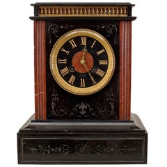 19th c. French Marble Mantel Clock