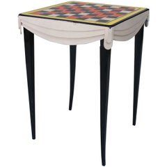 Contemporary American Abstracted Game Table