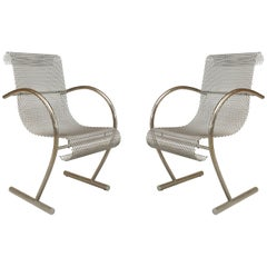 "Pair of 1960s Japanese ""Sing Sing"" Armchairs by Shiro Kuramata"