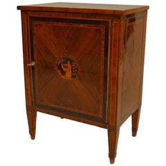 Turn of the 19th c. Italian Neoclassical Small Inlaid Commode