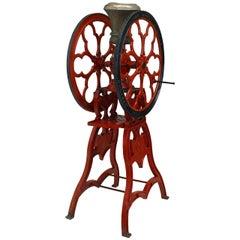 American Victorian Painted Coffee Grinder