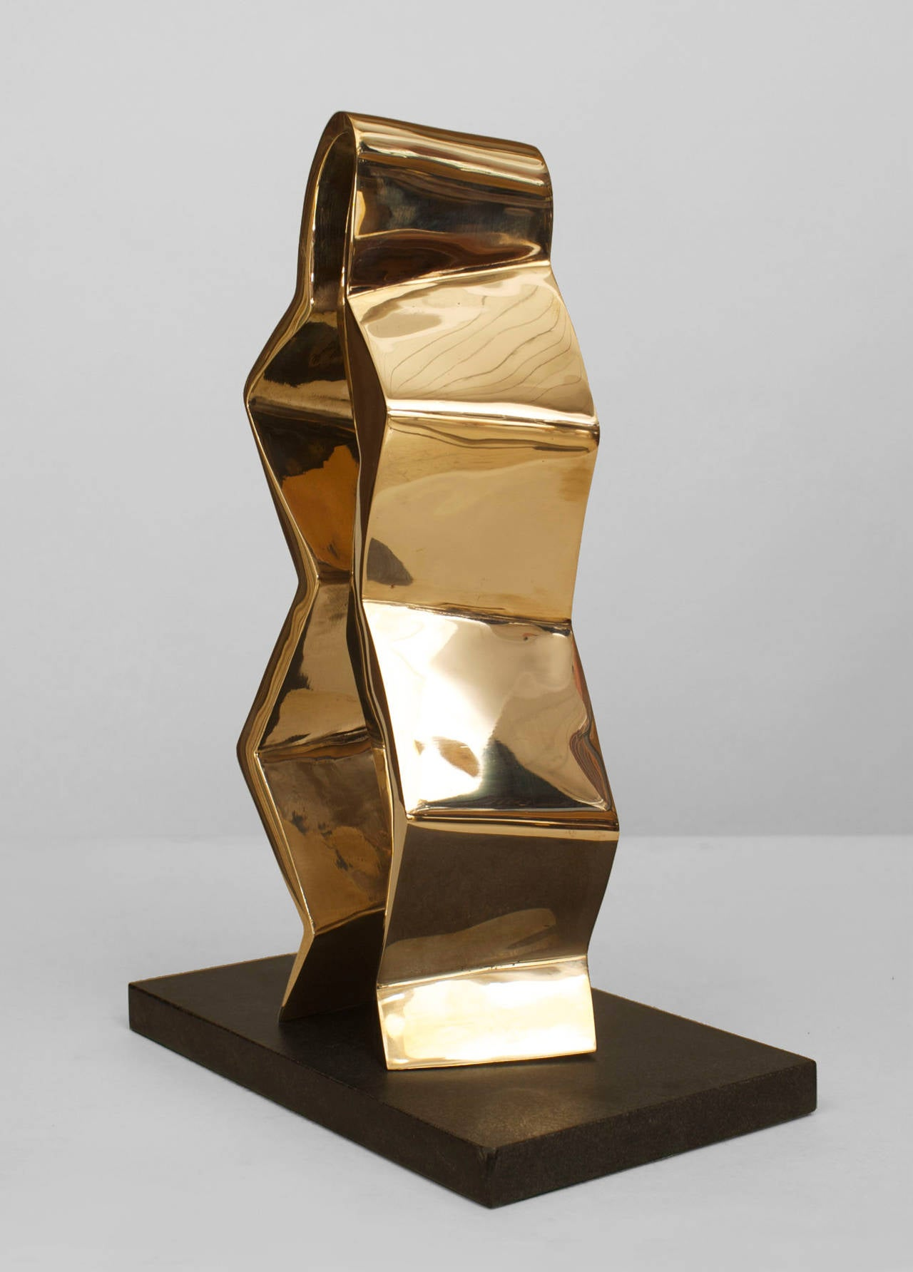 Contemporary American Polished Bronze Sculpture By Mike Walsh For Sale At 1stdibs