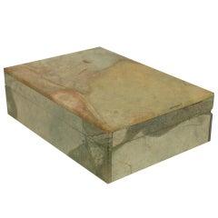 Small 20th Century Italian Marble Box