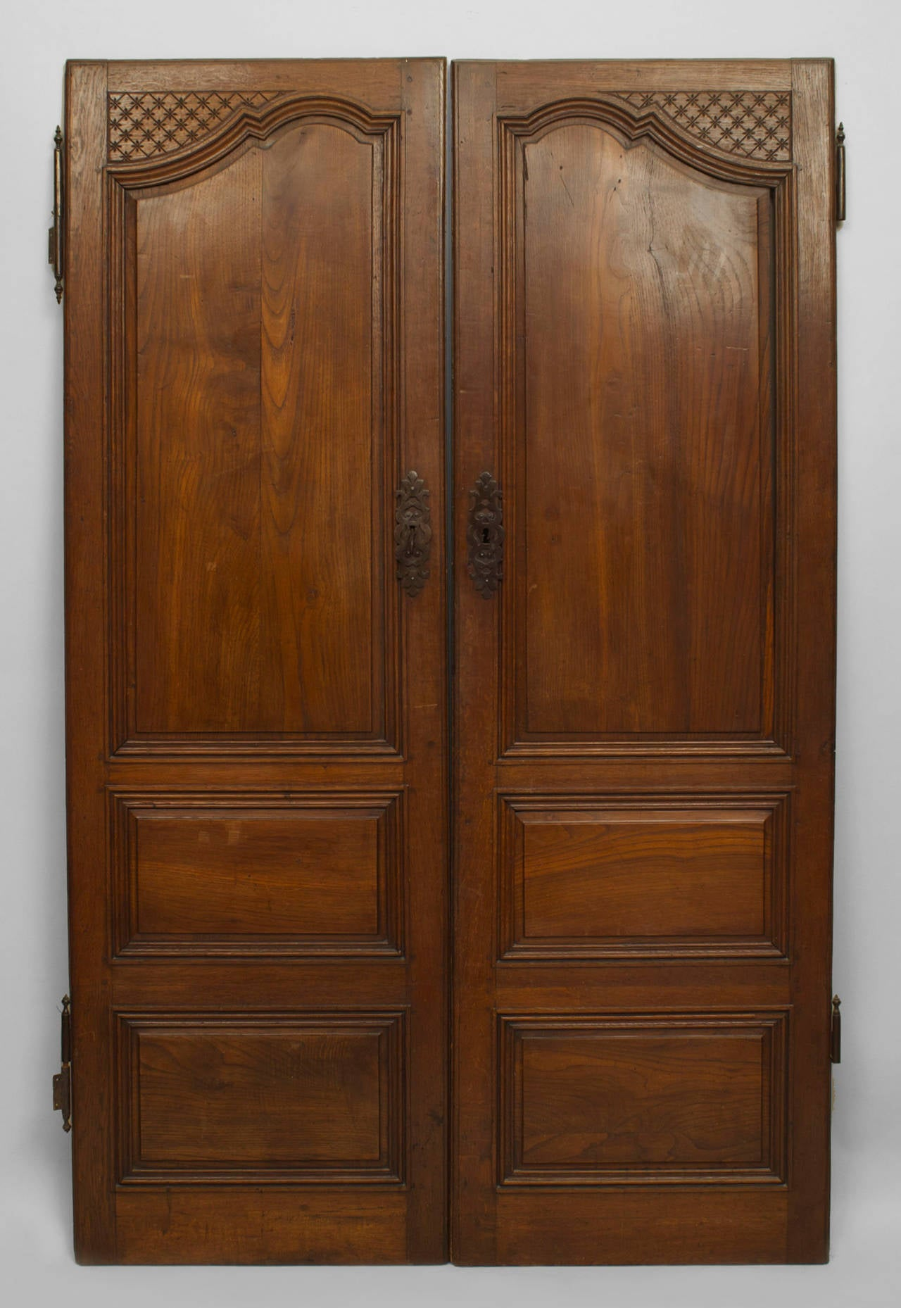 Pair Of 18th Century French Provincial Walnut Doors For