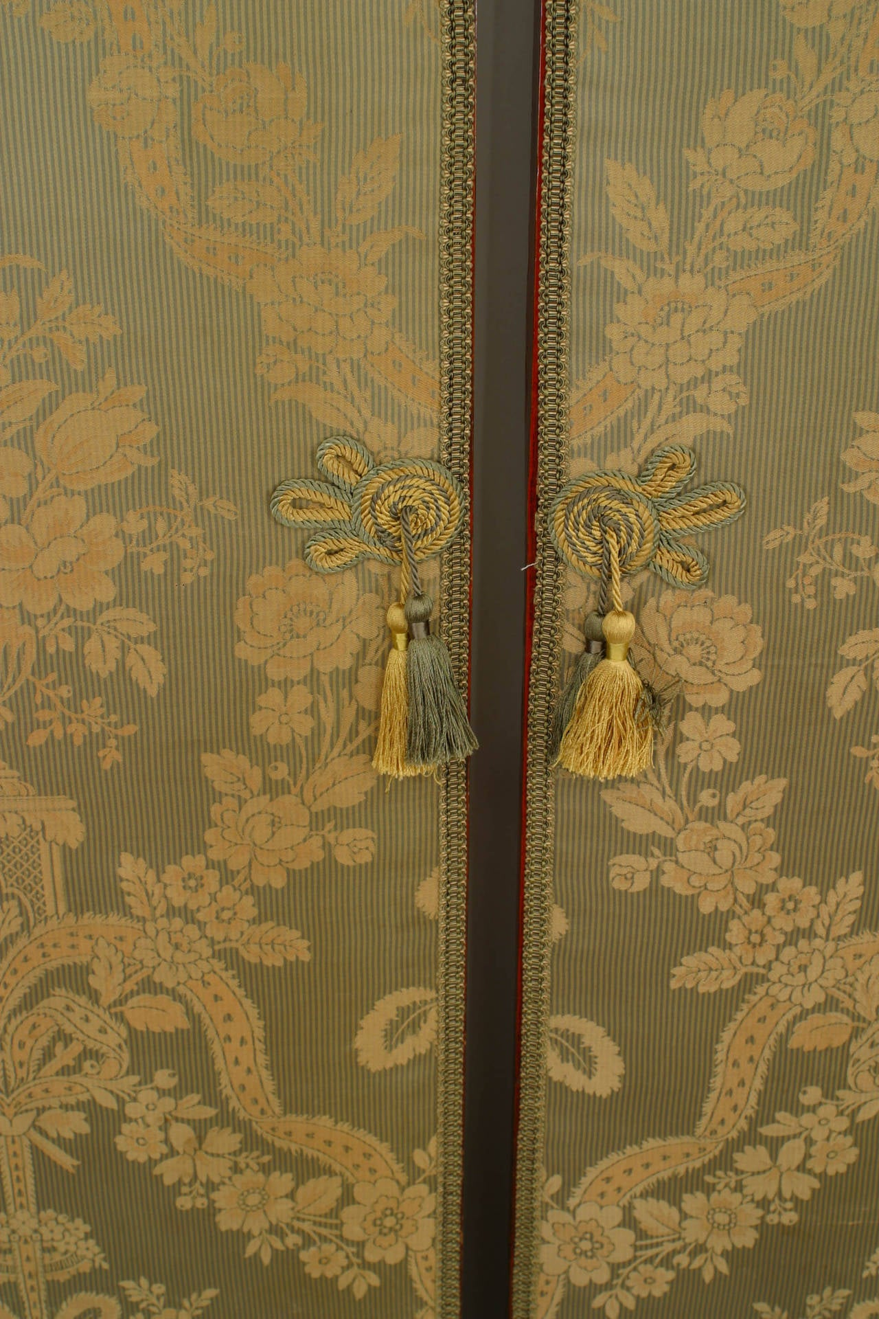 19th Century Large Pair of Chinese Carved and Lacquer Frame Doors For Sale