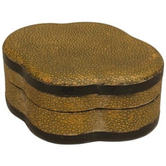 English Art Deco Shagreen Box