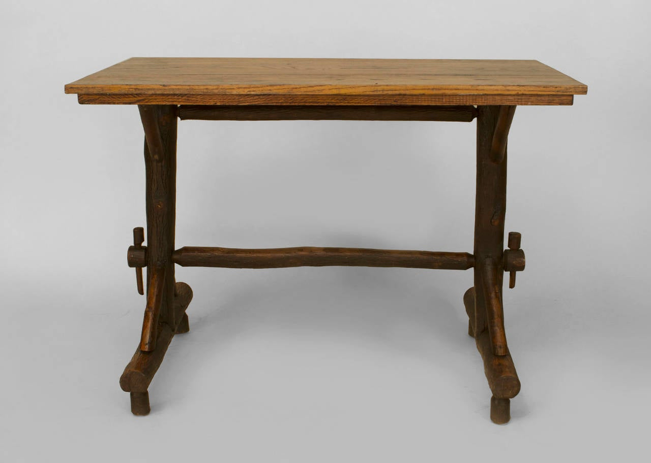 20th Century American Rustic Davenport By Old Hickory For Sale At 1stdibs