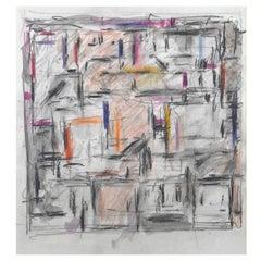 """Space Forms"" Pastel Artwork"