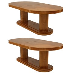 2 American Maple Oval Conference Table
