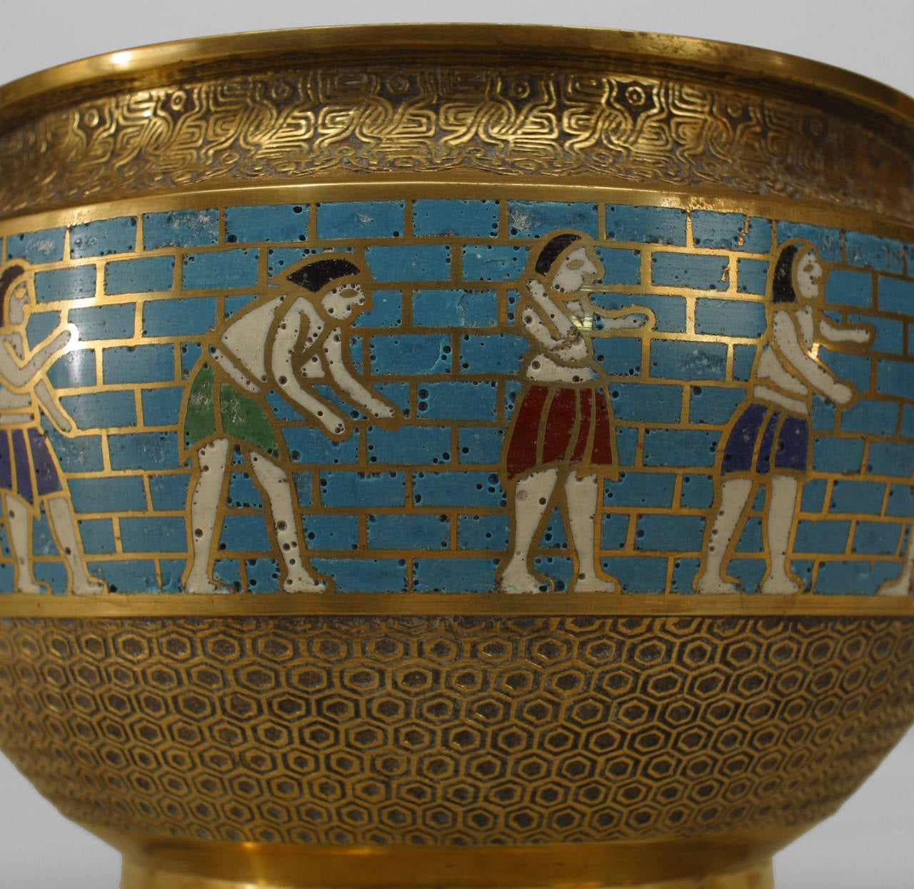 This unique ceramic Footed Bowl is an ancient Egyptian ... |Egyption Bowls
