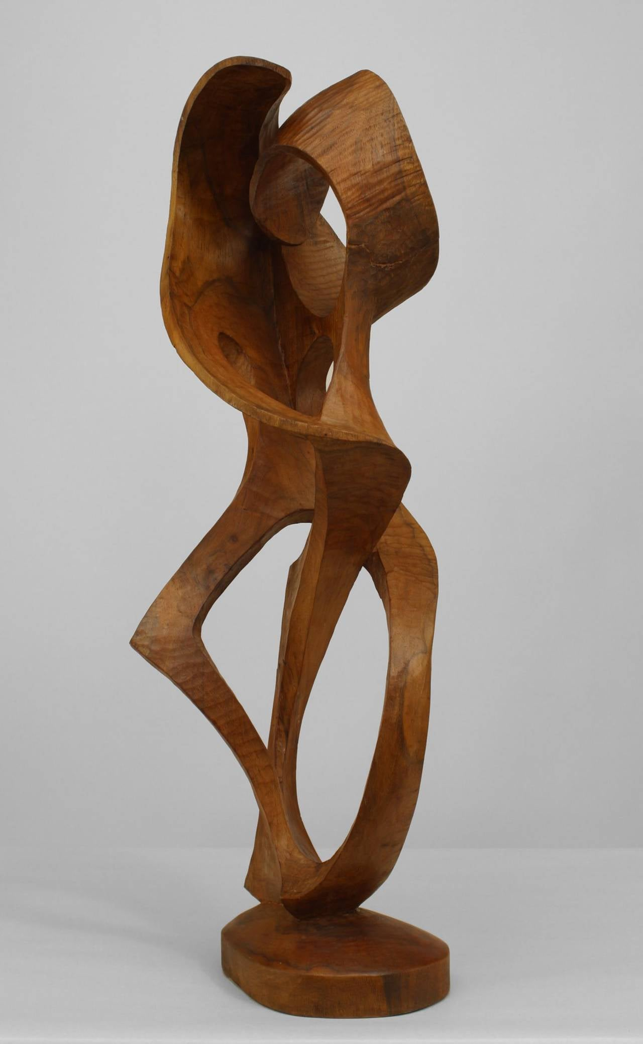 Contemporary abstract ambrosia maple sculpture for sale at