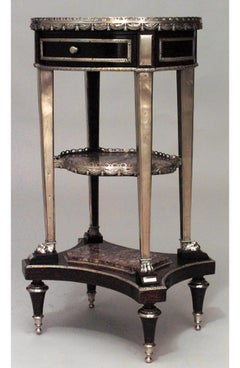 19th Century French Louis XVI Tiered Table