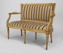 Late-18th or Early-19th Century Italian Neoclassical Loveseat
