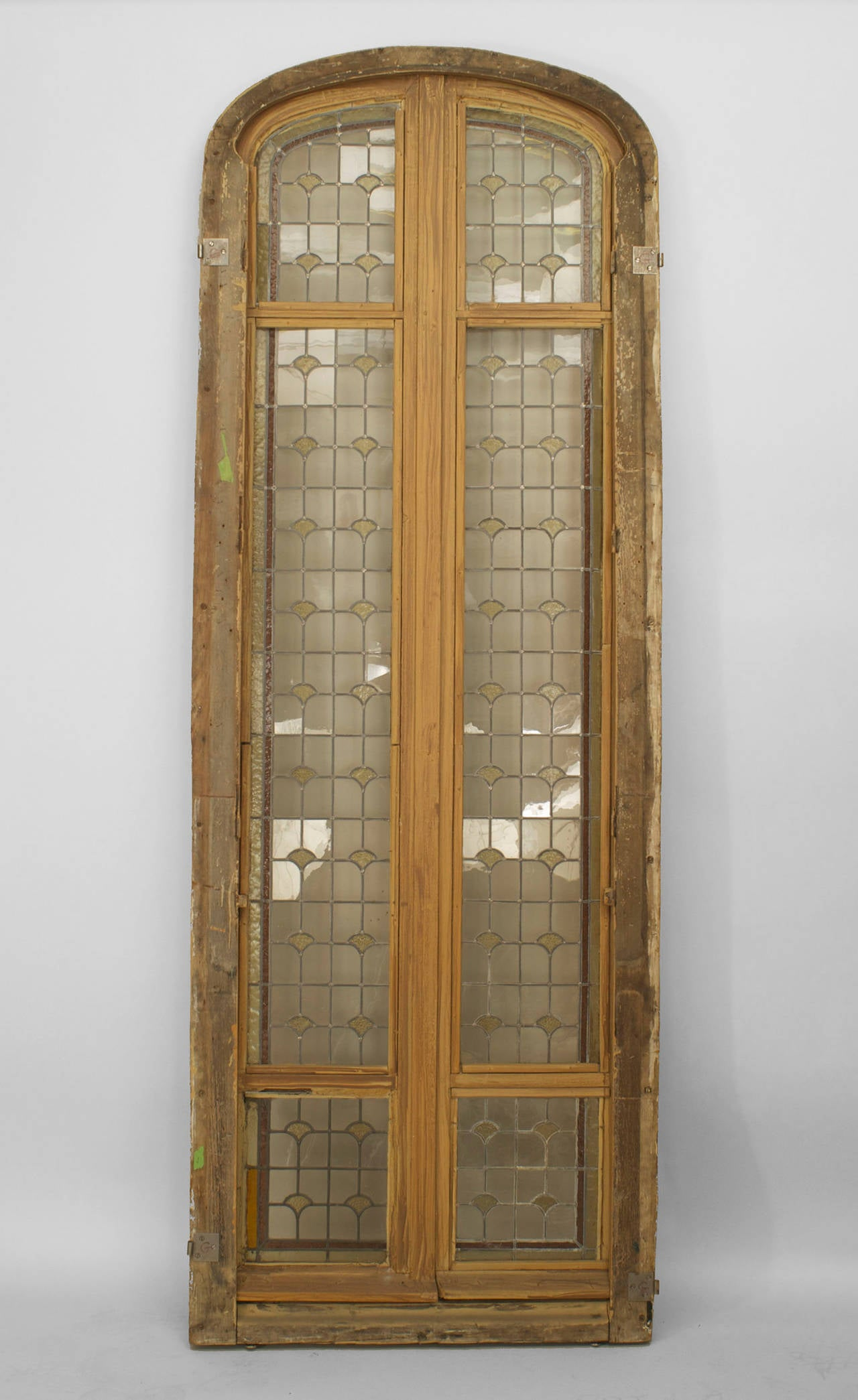 Three 19th c french stained glass doors for sale at 1stdibs for French doors for sale