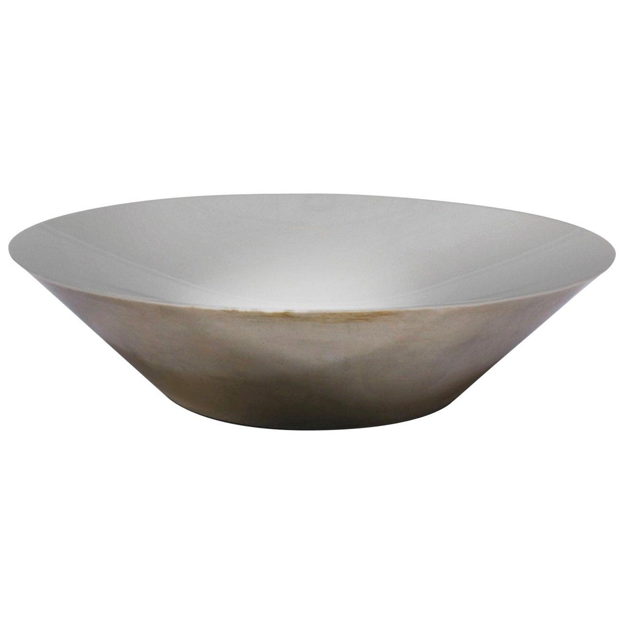 Mid-Century Modern Danish Sterling Bowl by Christoffersen