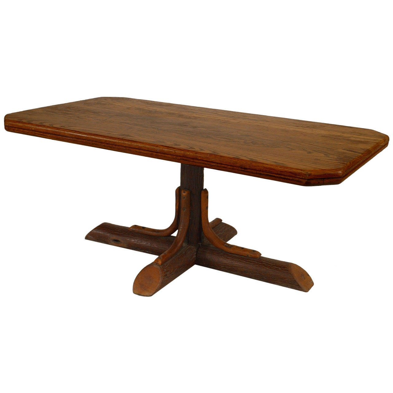 American rustic old hickory coffee table at 1stdibs Coffee tables rustic