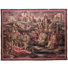 An Important Art Deco Aubusson Tapestry by Jean Beaumont