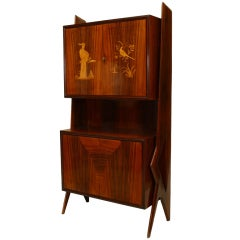 Mid-Century Modern Rosewood Cabinet