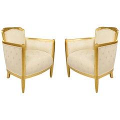 French Art Deco White Star 3-Piece Living Room Set