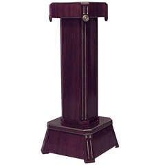 19th c. Russian Neoclassic Mahogany Pedestal