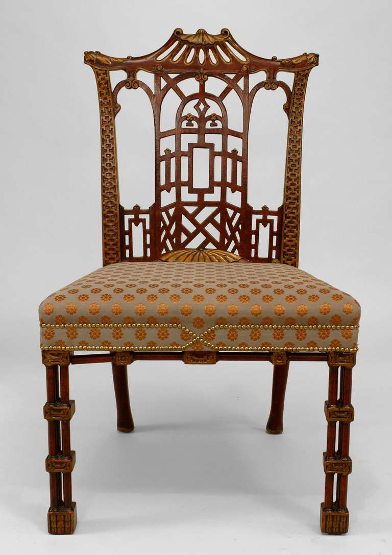 Chippendale Chairs Part - 25: Set Of Twelve 19th Century Chinese Chippendale Style Chairs At 1stdibs