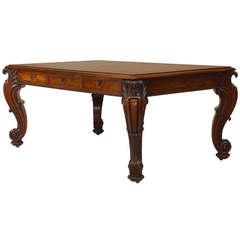 English Regency Mahogany Desk Attributed to Gillows, c. 1830