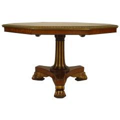English Regency Tilt-Top Center Table, c. 1810
