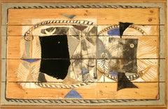 "Paul Rene Gaugin ""Windwelhsel 342 III 62"" Collage"