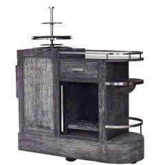 French Art Deco Bar Cart / Wagon