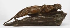 19th c. French Bronze of a Tiger, by L. Bureau