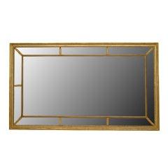18th c. Georgian Gilt Rectangular Wall Mirror