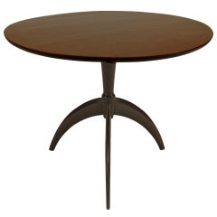 Guglielmo Ulrich Round Art Deco End Table