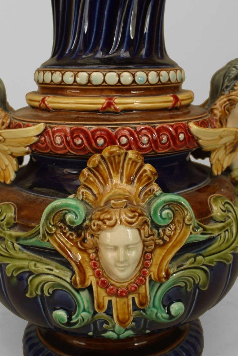 Cantagalli majolica vase… - Fine Art, Antiques, Decorative Arts ...
