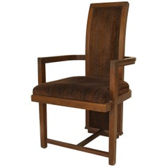 1950's American Armchair by Frank Lloyd Wright for Henredon