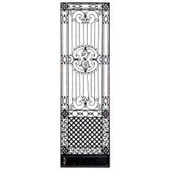 8 American Victorian Iron Filigree Gates