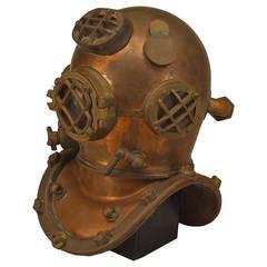 1/2 Scale Modle of a Diver's Helmet