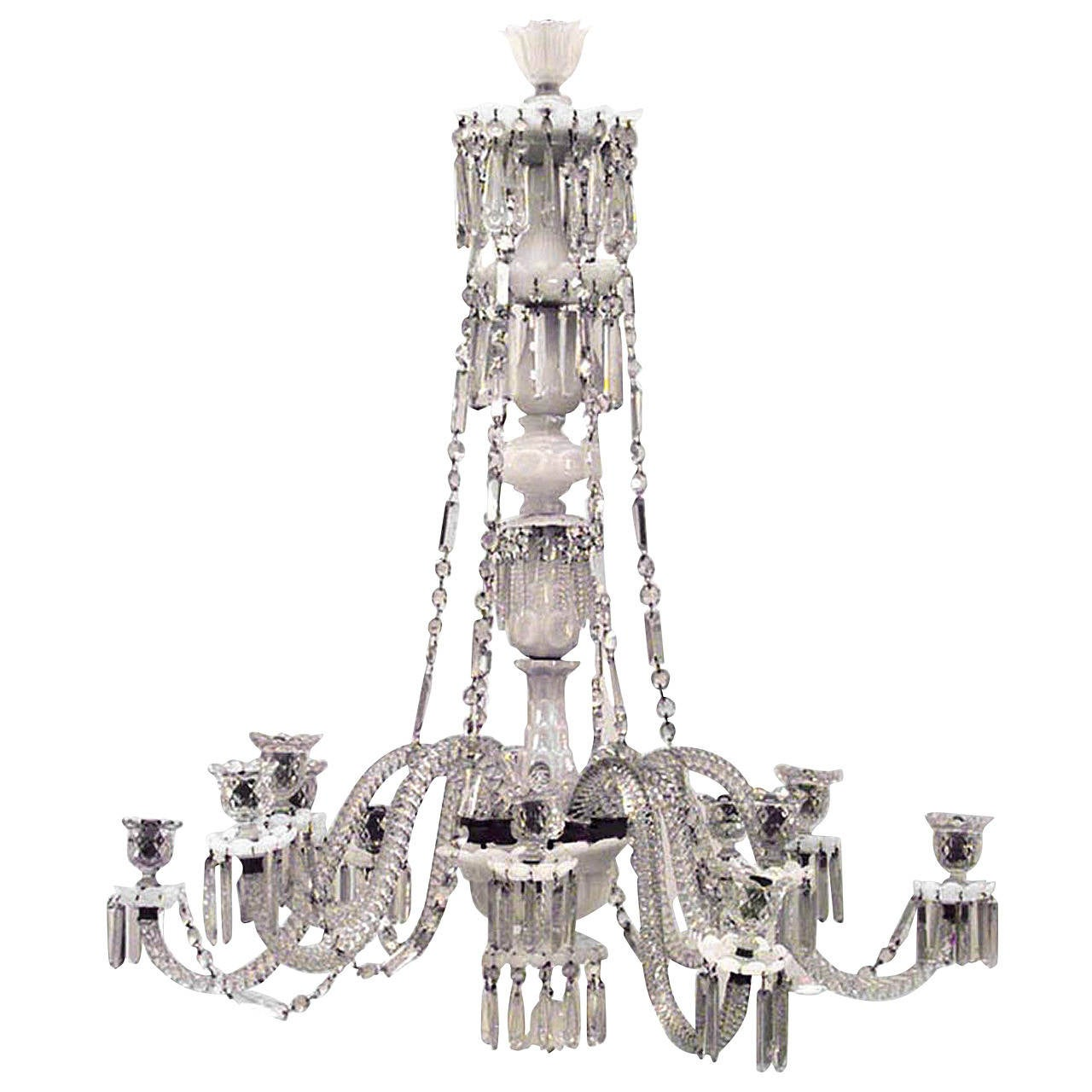 Baccarat chandelier, 19th century
